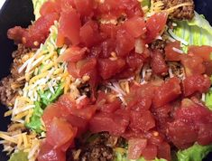 Southwestern Taco Salad - 21 Day Fix Approved
