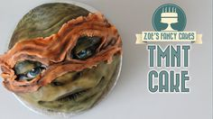 Teenage Mutant Ninja Turtles cake of Michelangelo from the new Teenage mutant ninja turtles out of the shadows Movie. Perfect to use as a birthday cake for a...