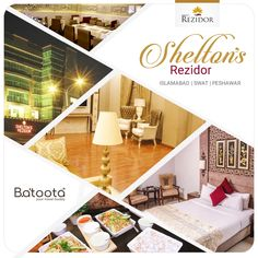 Whether it is Islamabad, Swat or Peshawar, Shelton Hotels makes a prime option for those who wish to stay with comfort and elegance. To book now, please visit Pakistan Hotels, Travel Companies, Swat, Traveling By Yourself, Book, House, Home, Swimming, Book Illustrations