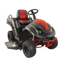 Raven 46-in Hybrid Riding Lawn Mower, totally kick butt gas-electric hybrid capable of 17 mph, 6 mph mowing speed, and 7 KW of electric power for your house in an emergency.