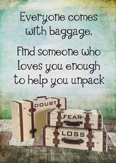 We all have baggage