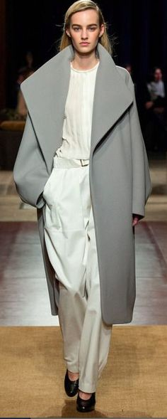 Hermès Fall 2014 Ready to Wear Collection #ParisFashionWeek2014 #PFWfall2014 #Hermès via Julie Keeter