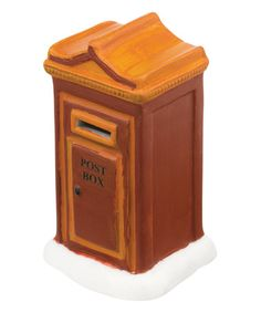 Love this Uptown Post Box Décor on #zulily! #zulilyfinds