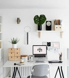 "Gefällt 3,511 Mal, 3 Kommentare - Design Your Workspace (@designyourworkspace) auf Instagram: ""A Mounted Mindset  #designyourworkspace ~ FREE Workspace Design Guide in Bio"""
