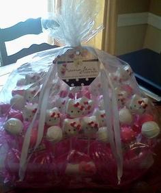 Hello Kitty Bouquet Lollicakes