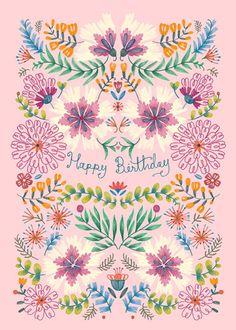 Leading Illustration & Publishing Agency based in London, New York & Marbella. Happy Birthday Art, Happy Birthday Wishes Cards, Birthday Wishes For Friend, Birthday Blessings, Happy Birthday Pictures, Birthday Messages, Birthday Cards, Birthday Quotes, Funny Birthday