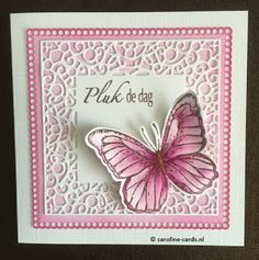 Caroline Cards: #StudioLight Vlinder