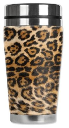Mugzie® brand 16-Ounce Travel Mug with Insulated Wetsuit Cover - Spotted Leopard by Art Plates, http://www.amazon.com/dp/B009FR08BA/ref=cm_sw_r_pi_dp_SMsWqb12SCTAF