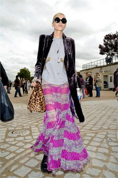 DJ: Long layered chains, I think, the essence of street chic when matched with a great statement outfit.