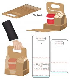 Box Packaging Templates, Packaging Design, Food Box Packaging, Diy Paper, Paper Crafts, Burger Box, Party In A Box, Vinyl Crafts, Diy Craft Projects