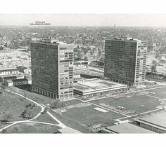 Lafayette Park Lafayette Park, Googie, Detroit, Architecture, City, Beautiful, Arquitetura, Cities, Architecture Design