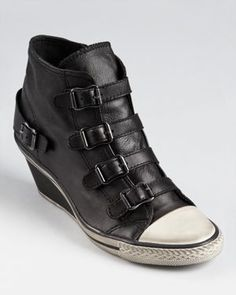 Ash Wedge Sneakers - These are interesting, but I'm feeling them