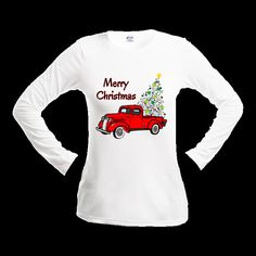 Christmas T Shirt Vintage Christmas Tee Junk Gypsy Christmas Shirt Old Truck Christmas Tree T Shirt by 2GirlsForever on Etsy