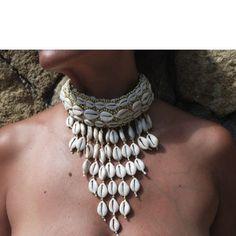 Jewellery Holder Near Me both Jewellery Cleaning Near Me provided Boho Knit Necklace - Jewellery Online Mirraw Seashell Jewelry, Beach Jewelry, Boho Jewelry, Jewelry Gifts, Handmade Jewelry, Fashion Jewelry, Jewelry Design, Shell Necklaces, Jewelry Necklaces