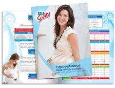 Diseño publicitario/editorial - Stop Diseño Gráfico - Diseño de Dossier Svelty 2 - Nestlé México.