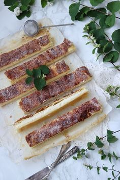 Cookies and Sweets - Cheesecake bitar med smördegstäcke