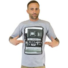 T-Shirt Joker Brand x Estevan Oriol Shop heathergrey ★★★★★
