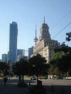 CITYWALK: UNIVERSITY AVENUE — TORONTO Visit Toronto, Toronto Ontario Canada, Toronto Life, Queen Street West, Queen's University, Nursery School, Canada Travel, Don't Worry, Cn Tower