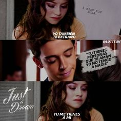 #Traduccion I MISS YOU Te extraño. Luna Just a Dream Solo un sueño.