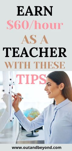 If you are looking to make extra money or to have good money making opportunities as a teacher, this article is for you! Stop being frugal and make good money teaching online for example! Pay off debt and enjoy your life with a job you love and pays well! Online Teaching Jobs, Teaching English Online, Online Jobs, Teaching Resources, Extra Money Jobs, Make More Money, Jobs For Teachers, Teacher Jobs, Job Website