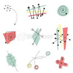 50's illustrations