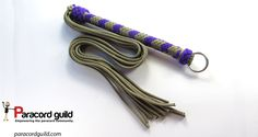 How to make a paracord flogger, a tutorial.