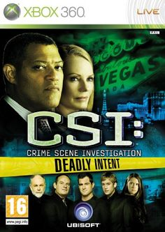CSI: Crime Scene Investigation - Deadly Intent (Xbox 360): Amazon.co.uk: PC & Video Games