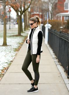 #ad winter athleisure outfit