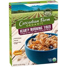 Cascadian Farm Organic Cereal  146 OZ * You can get additional details at the image link. Note: It's an affiliate link to Amazon.