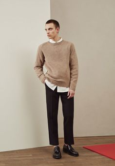 Ouur | Nias Shetland Wool Jumper, Victor Cotton Shirt and Felix Highland Wool Pants