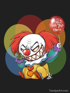 Its Pennywise by tandemonium