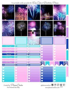 Free Planner, Planner Pages, Happy Planner, Blog Planner, Printable Planner Stickers, Journal Stickers, Harry Potter Disney, Idee Diy, Planner Organization