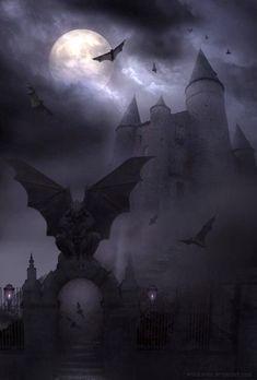Shakespeare Macbeth, Darkness Falls, Creatures Of The Night, Spooky Halloween, Creepy, Gothic, Batman, Scene, Superhero