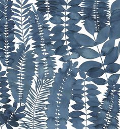 Natalie's Sketchbook: Indigo Leaf
