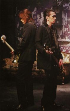 Buck Tick Guitars in Romance PV - Hidehiko - Hisashi