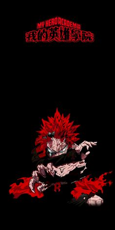 Reddit - Amoledbackgrounds - Red Riot from My Hero Academia (2880x5760)