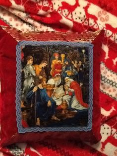 Christmaspillows tell the true story of Christmas.