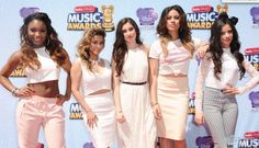 Fifth Harmony on the #RDMAs red carpet
