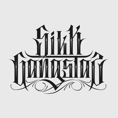 Letterings Collection by Catrin Valadez, via Behance
