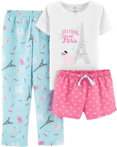 Little one Pajamas turn your young one pleasant for sleep and bedtime snuggles! Buy your favored trend, like footie pajamas and stylish pajama sets. Kids Outfits Girls, Kids Girls, Girl Outfits, Fashion Outfits, Summer Outfits, Cute Pajama Sets, Cute Pjs, Cozy Pajamas, Pyjamas