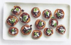 Gluten-Free Appetizer Recipe | Sweet Potato Rounds with Black Beans, Mexican Cheese and Cilantro | Real Good Cooking Tips