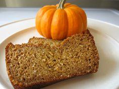Incredibly Moist Organic Pumpkin Bread Recipe http://wholelifestylenutrition.com