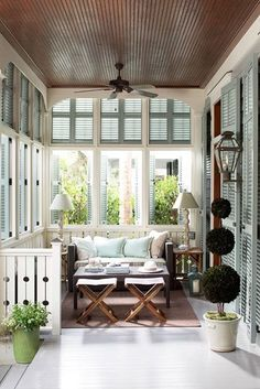 Lovely, small porch ~ cozy
