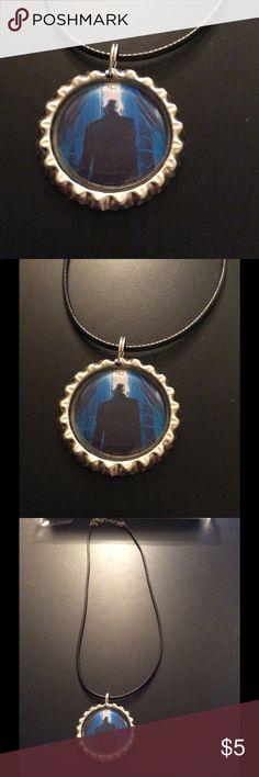 NWOT handmade HP Malfoy bottle cap necklace NWOT handmade HP Malfoy bottle cap necklace Jewelry Necklaces