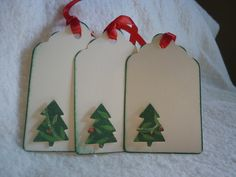 Gift tag set of 6 by Wrightcards on Etsy