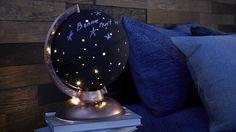 Lampe Globe, Diy Luminaire, Dance Decorations, Constellations, Crafty, Nurseries, Home Decor, Fun, Ideas