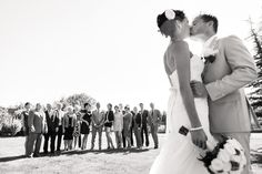 Groepsfoto bruiloft Merlin & John #wedding #group