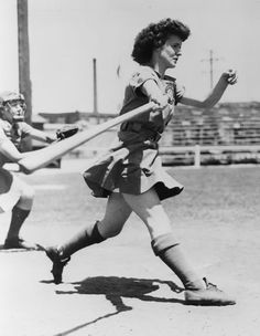 Helen Callaghan played AAGPBL. (The league that A League of Their Own was based on.)