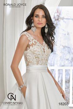 41ccc3f13fad Ronald Joyce 2019 | Centro Novias Albolote Unique Wedding Gowns, Princess Wedding  Dresses, Elegant