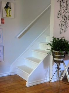 Painted Staircase Design, Pictures, Remodel, Decor and Ideas
